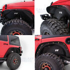 Rock Crawler Front+Rear Inner Fender Liner Combo kit for 07 18 Jeep Wrangler JK