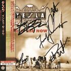 Tesla - Into The Now + 1 Bonus Track (Japan CD w/OBI - Autographed by full band)