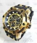 Invicta Bolt 26751 Men's 52mm Chronograph Gold Tone Watch *SHIPS FREE*