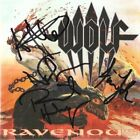 Wolf - Ravenous CD (Signed by all 4 band members) Swedish Power Metal - Maiden