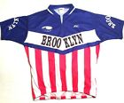 Kucharik Mens Size 3XL 1 4 Zip Brooklyn Red White Blue USA Cycling Jersey Bike