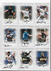 1996 Leaf Signature Series Autographs - 45 Card Lot (Gold, Silver
