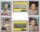 Lot of 30 different 1962 Topps MLB cards. Includes minor stars rookies and hi #!