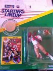 1991 Jerry Rice Football Starting Line up and Rookie Card Topps No# 161
