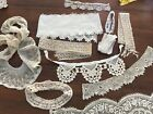 Vintage Lace Edging Trimmings Crocheted