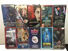 Lot of 10 VHS SUPER RARE OOP VINTAGE HORROR MOVIE TITLES TAPES OBSCURE VIDEO