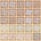 Number Layering Stencils Template Wall Painting Scrapbook Embossing Paper Craft