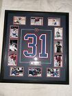 MONTREAL CANADIENS CAREY PRICE SIGNED JERSEY NUMBER FRAMED WITH COA