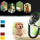 5 Color Pet Dog Sound Training Clicker Interactive Command Obedience Guiding