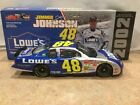 2002 Jimmie Johnson 48 LOWES ROOKIE CAR  Chevy Monte Carlo 1 24 Action CWC
