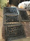 D23  4Av Price Separate Antique Deco Wall Mount Heating Grate 9 78 X 13 7/8