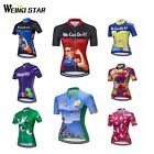 Cycling Jersey Women Funky Print Retro Vintage Styl Design Team Bike FREE SHIP