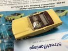 Aurora Thunderjet 500 1371 Mustang Convertible Yellow  Brown unmodified