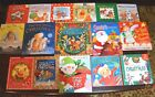 Set of 16 PB HB Christmas Religious theme picture books Nativity Jesus C7