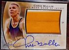Chris Mullin 2014 Leaf Q Game Worn ON CARD Autograph Patch Warriors