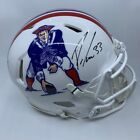 Dion Lewis Signed New England Patriots Full Size Authentic Speed Helmet