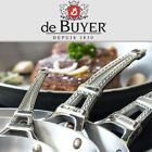 De Buyer French Collection Mont Bleu Ergonomic Fry Pans Induction All Cooktops