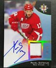 2015-16 UD Ultimate Pavel Datsyuk Patch Autograph 10 SP RARE! Red Wings