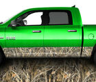 Truck Jeep Rocker Panel Wraps Camo Vinyl Graphic Wrap Decals Camouflage Grass