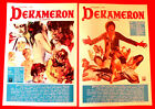 DECAMERON 1971 PIER PAOLO PASOLINI G BOCCACCIO UNIQUE 2 X EXYU MOVIE POSTER