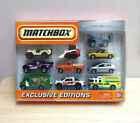 RARE 2010 Matchbox Exclusive Editions 10 Pack Die Cast Set New Sealed HTF MIB