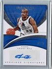 Grant Hill 2017-18 Panini Immaculate Auto Autograph Card 99