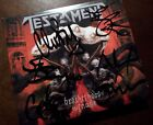 TESTAMENT – Brotherhood Of The Snake – SIGNED by 5 members! – 1st press – COA