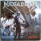 MEGADETH – Dystopia – FULLY SIGNED by all 4 members! – 1st press – COA