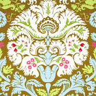 2 yards 33 inches AMY BUTLER BELLE ACANTHUS PWAB109 Olive
