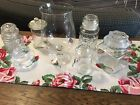 Vtg Lot Glass Apothecary Drugstore Candy Buffet Jars Wedding Kitchen Party #1