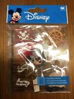Disney Pirate Mickey 3D Stickers New 8 pieces