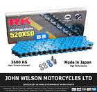 Beta Alp 40 350 2009 Blue RK X-Ring Chain 520 XSO 112 Link