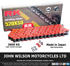 Beta Alp 40 350 2004 Red RK X-Ring Chain 520 XSO 112 Link