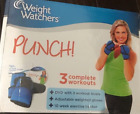 NEW Weight Watchers Punch Fitness Weighted Gloves DVD  Exercise Tracker