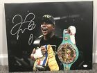 "FLOYD ""MONEY"" MAYWEATHER Autographed SIGNED 16x20 Stretched CANVAS w JSA COA TMT"