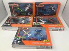 Lot Of 5 Matchbox Mission Force Police Response Farm Space Fire Strike Squad