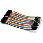 40pcs Male To Female Dupont Wire Jumper Cables 10cm For Arduino Breadboard