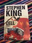 Stephen King SIGNED Cell 1st Edition 1st Printing Mylar