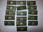 Lot 16 of Vintage CPU Plus Computer Boards For Scrap Gold Recovery