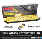 Beta Alp 200 2008 Yellow RK X-Ring Chain 520 XSO 112 Link