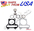 Engine Parts 39mm Piston set rings Gaskets Gy6 50cc Peace jcl Scooter Moped Sunl