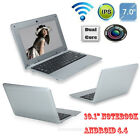 Cheap 10 Android 44 Netbook Dual Core Laptop Camera WiFi Netbook Notebook 4GB
