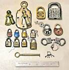 Vintage locks, keys and a quality Magnetic lock- NEW REDUCED PRICE FOR CHRISTMAS