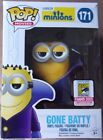 Funko Pop! Gone Batty Minion #171, SDCC 2015 Exclusive, in Pop Protector