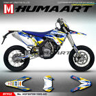 Husaberg FE FS FX 390 450 570 Dirt Bike Graphic Stickers Kit 2009 2010 2011 2012