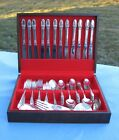 80 Piece Vintage 1847 Rogers Bros FIRST LOVE Set No Monograms 8 S