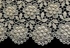 Rich Floral Pattern Chemical Lace Panel 33 1/2