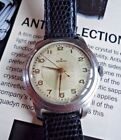 Rare Original Vintage Zenith1950's 33 Cal' 105.50.6 17 jewels 34mm Stepped case