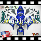 For Honda CBR600RR 2007-2008 Fairing Bodywork ABS Movistar Blue Green 1h4 XS