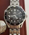 Omega Seamaster Professional Co Axial Black Dial Men's Watch